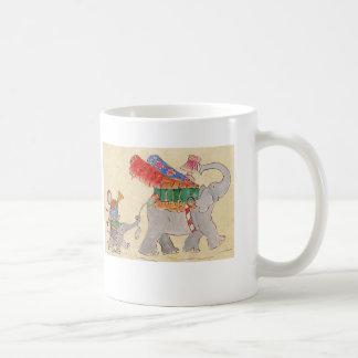 Mug Le jour en mouvement des éléphants