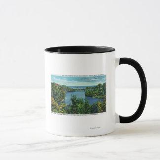 Mug Le lac Ontario et parc de Durand Eastman