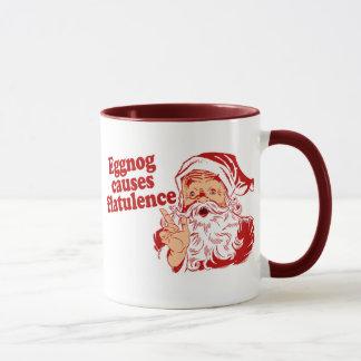 Mug Le lait de poule cause la flatulence