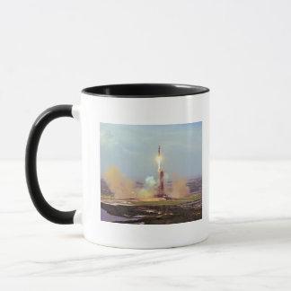 Mug Le lancement de Saturn IB de projet d'essai