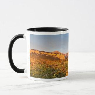 Mug Le lever de soleil allume le canyon 2 de Blackleaf