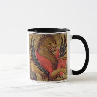 Mug Le lion de St Mark (huile sur le panneau)