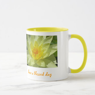 Mug le lotus, ont un jour béni