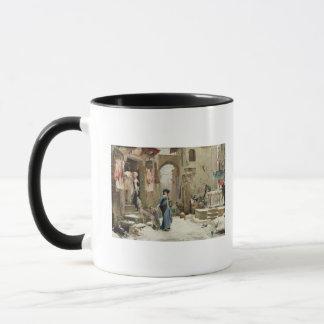 Mug Le loup de Gubbio, 1877