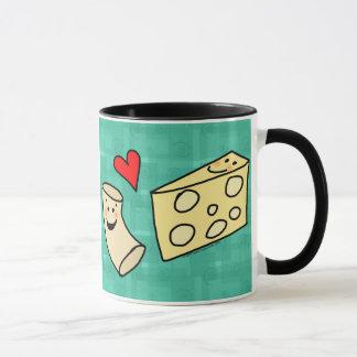 Mug Le Mac aime le fromage, macaronis mignons drôles +