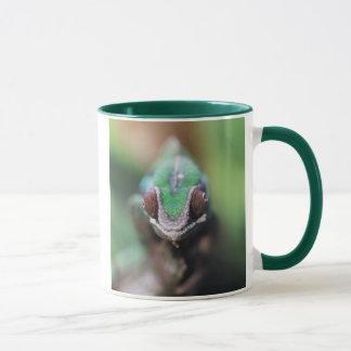 Mug Le Madagascar, caméléon rouge de panthère de barre