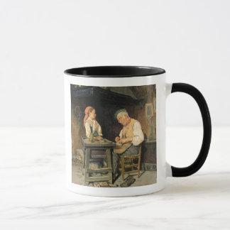 Mug Le magasin du cordonnier, 1874 (huile sur le