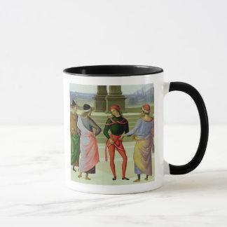 Mug Le mariage de la Vierge, coordonnée de quatre
