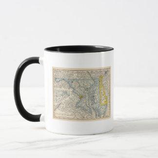 Mug Le Maryland, C.C, et le Delaware
