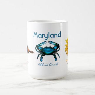 Mug Le Maryland, crabe bleu
