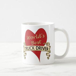 Mug Le meilleur chauffeur de camion du monde