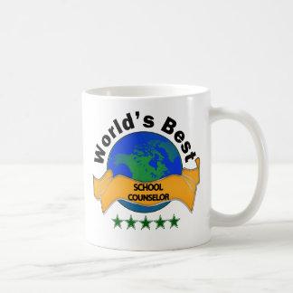 Mug Le meilleur conseiller de l'école du monde