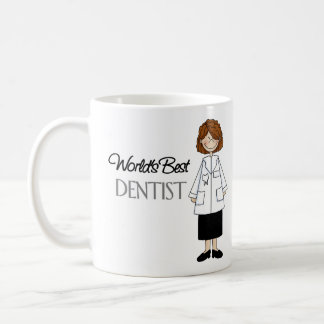 Mug Le meilleur dentiste du monde, femme