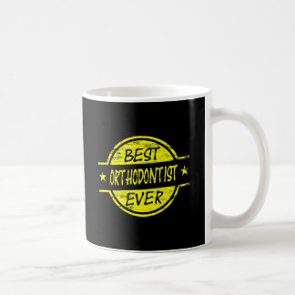 Mug Le meilleur jaune d'orthodontiste jamais