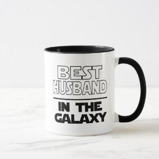 Mug Le meilleur mari dans le Galazy