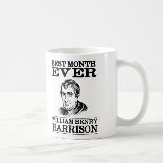 Mug Le meilleur mois de William Henry Harrison jamais