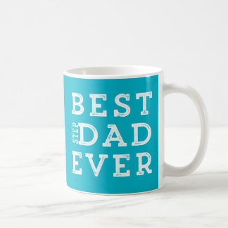 Mug Le meilleur papa d'étape jamais