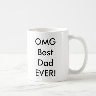 Mug Le meilleur papa d'OMG JAMAIS !