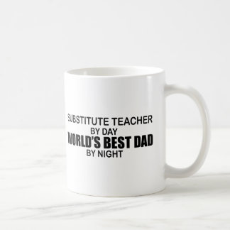 Mug Le meilleur papa du monde - professeur remplaçant