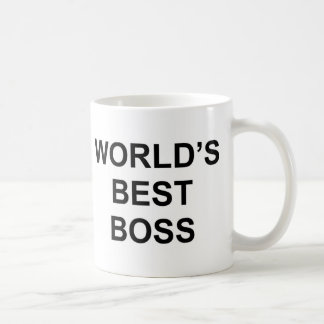 Mug Le meilleur patron du monde