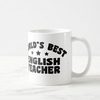 Mug Le meilleur professeur d'Anglais du monde