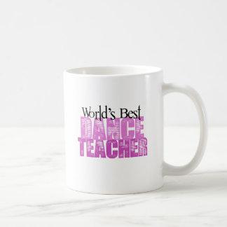 Mug Le meilleur professeur de la danse du monde