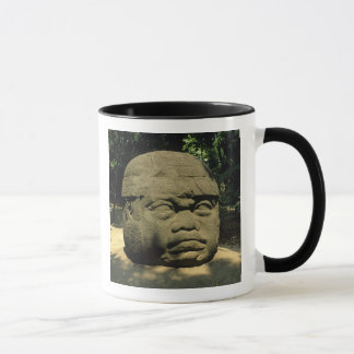 Mug Le Mexique, Villahermosa, tête géante d'Olmec, La