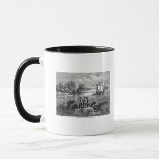 Mug Le Moravians montant le Delaware