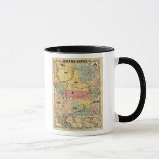 Mug Le Nébraska et le Kansas 2