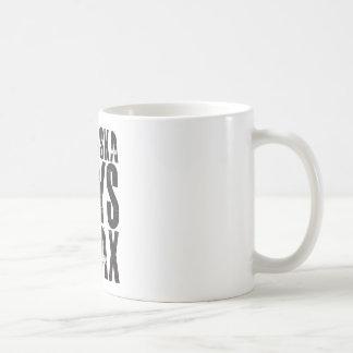 Mug Le Nébraska indique détendent