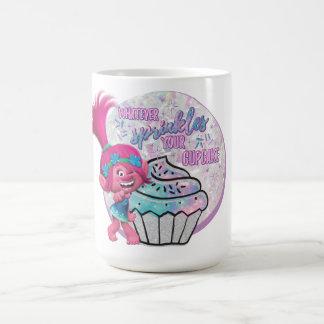 Mug Le pavot des trolls | arrosent votre petit gâteau