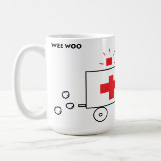 Mug Le peu courtise l'ambulance