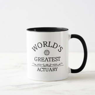 Mug Le plus grand actuaire du monde
