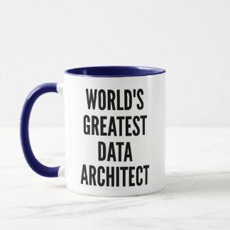 Mug Le plus grand architecte de données des mondes