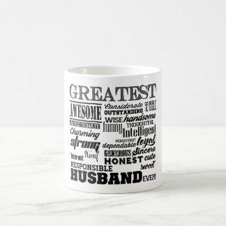 Mug Le plus grand bonbon à mari jamais personnalisé