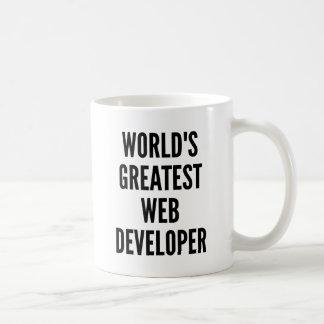 Mug Le plus grand développeur web des mondes