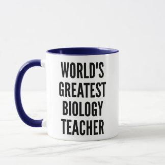Mug Le plus grand professeur de biologie des mondes