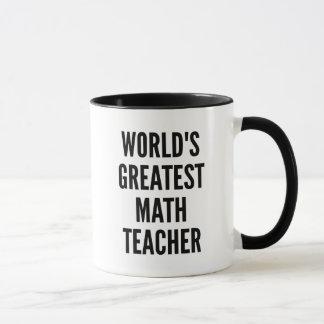 Mug Le plus grand professeur de maths des mondes