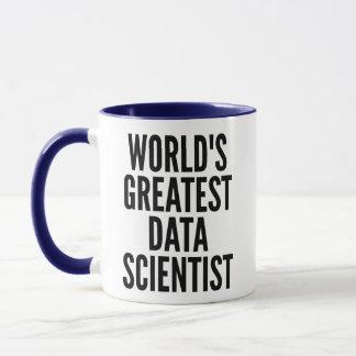 Mug Le plus grand scientifique de données des mondes
