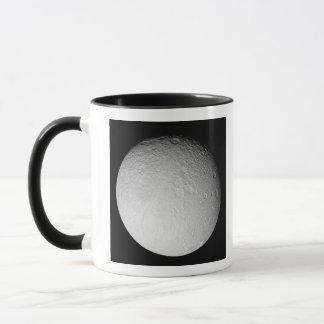 Mug Le Pôle du sud de la lune Tethys de Saturn
