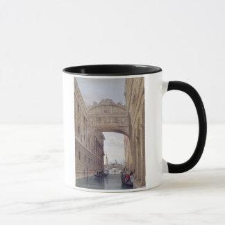 Mug Le pont des soupirs, Venise, gravée par Lefevre (