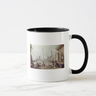 Mug Le port antique d'Anvers