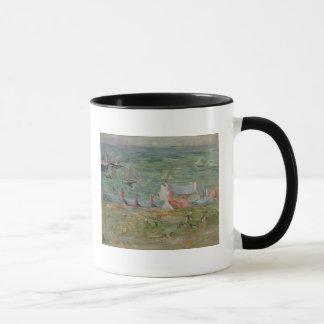Mug Le port de Gorey sur le Jersey, 1886