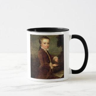 Mug Le portrait de Wolfgang Amadeus Mozart a vieilli