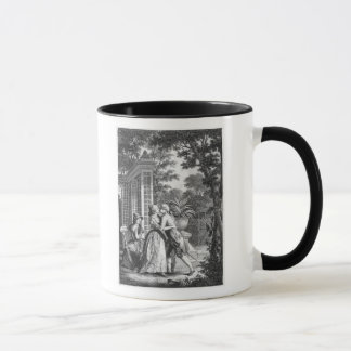 Mug Le premier baiser de l'amour
