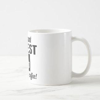 Mug Le prêtre instantané ajoutent juste le café