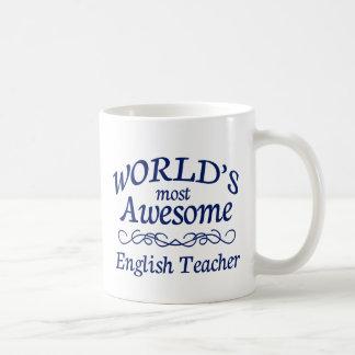 Mug Le professeur d'Anglais le plus impressionnant du