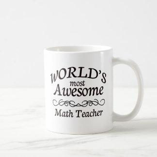 Mug Le professeur de maths le plus impressionnant du