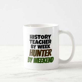 Mug Le professeur d'histoire aime chasser