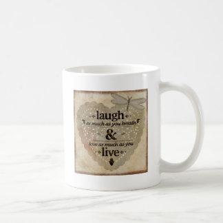 Mug Le rire autant AsYou respirent le cadeau de